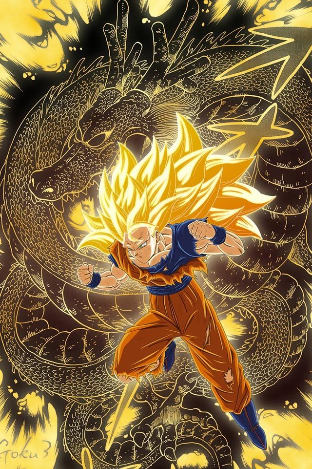 Dragon Ball Z - Super Saiyan 3 Goku