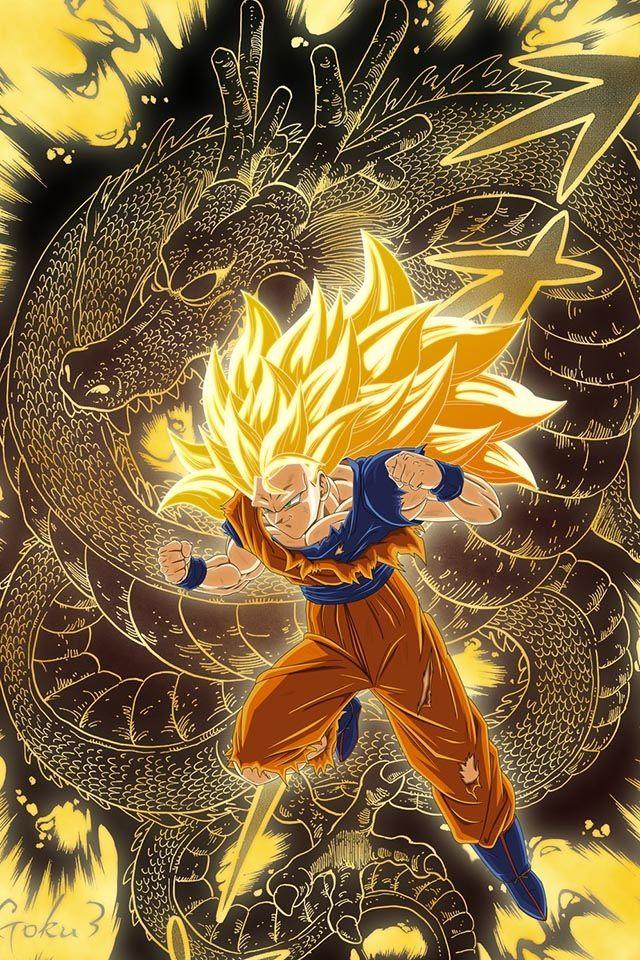 Dragon Ball Z - Super Saiyan 3 Goku