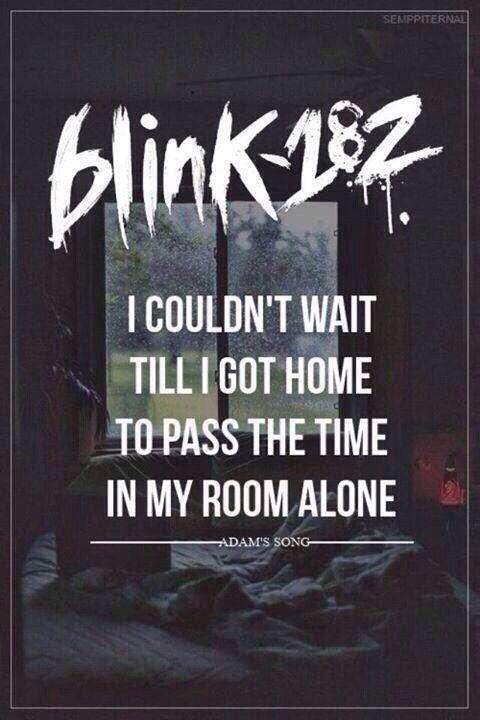 Blink-182 __Adam's Song
