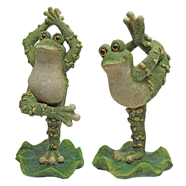 Design Toscano Boogie Down, Dancing Frog Statue (Set of 2)