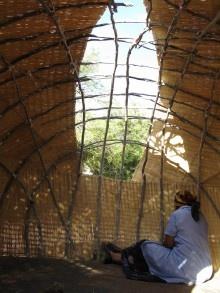 Traditional Nama hut, Richtersveld, South Africa