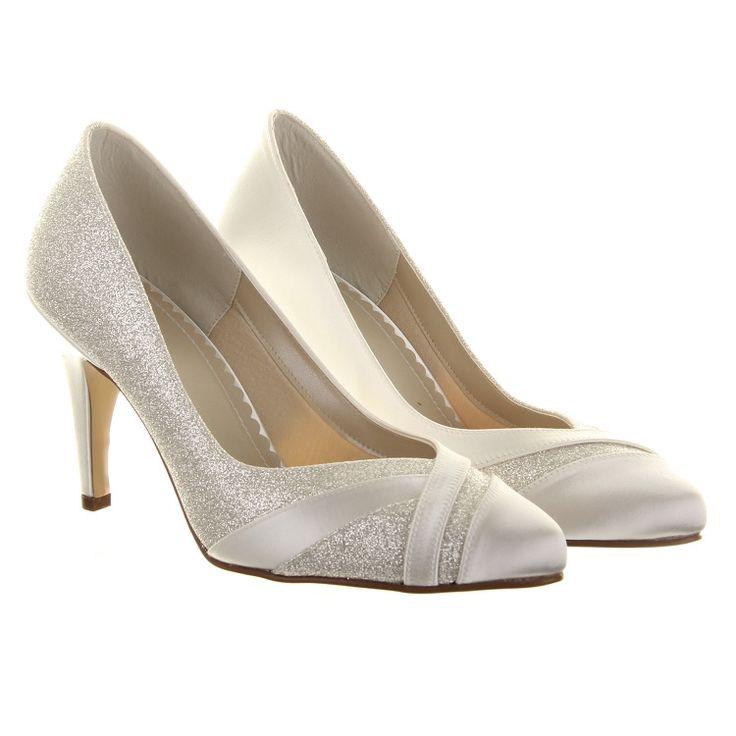Rainbow Club Wide Fit Mila Wedding Shoes Crystal Bridal Accessories