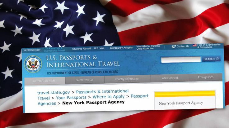 Contact Us; U.S. Embassies & Consulates Find U.S.Embassies & Consulates ... New York Passport Agency. New York Passport Agency... https://travel.state.gov/content/passports/en/passports/information/where-to-apply/agencies/new-york.html
