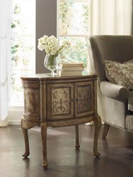 Home Furniture | Living Room Accent Furniture | Seven Seas | Handpainted  Oval Accent Table