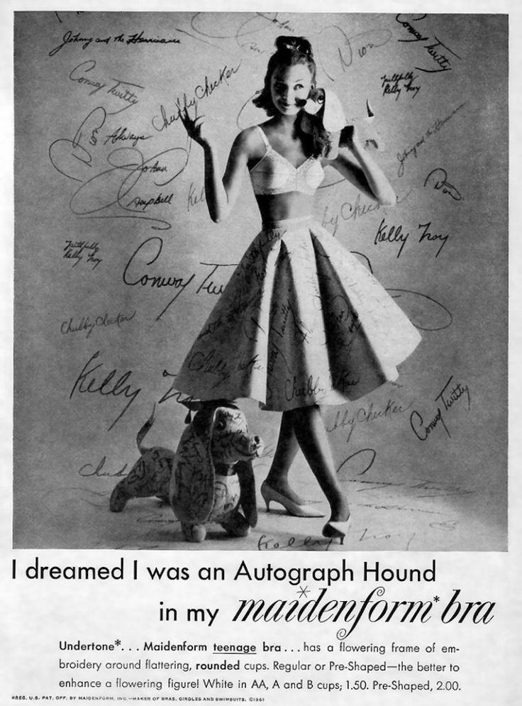 37 best images about lingerie vintage us ads on pinterest