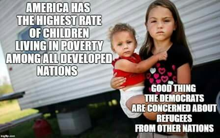 One of the reasons I am strongly pro-choice.  Maybe I'd think differently if the USA didn't have an ever increasing population of homeless children. Imagine how truly awful it would be if abortion was outlawed...