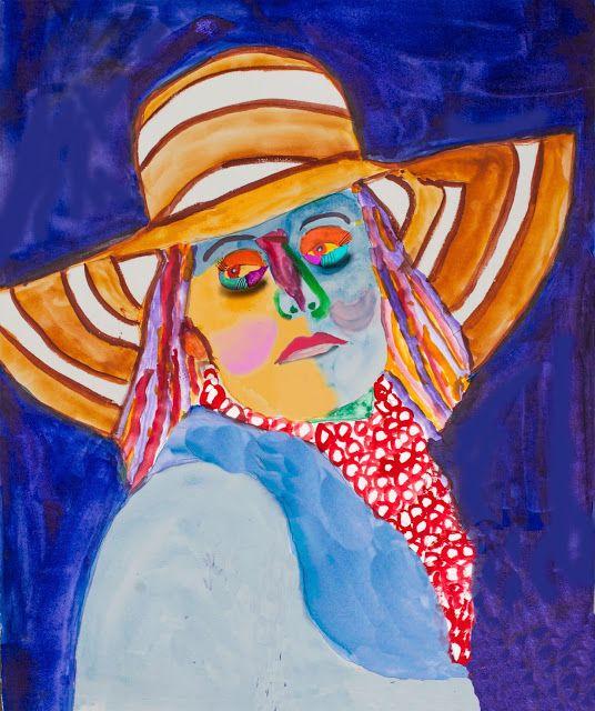 Tom's Blog: Femme avec le Chapeau
