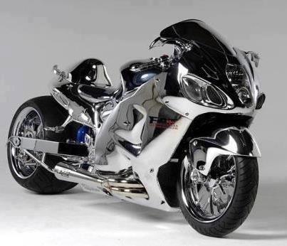 "The Suzuki Hayabusa (or GSX1300R) is a sport bike motorcycle made by Suzuki since 1999. It immediately won acclaim as the world's fastest production motorcycle, with a top speed of 188 to 194 miles per hour (303 to 312 km/h).    Hayabusa is Japanese for ""peregrine falcon"", a bird that often serves as a metaphor for speed due to its vertical hunting dive, or stoop, speed of 180 to 202 miles per hour (290 to 325 km/h), the fastest of any bird."