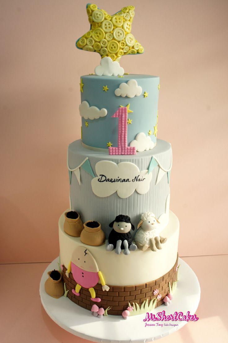 Nursery Rhymes Cake Birthday Cakes For Kids Nursery