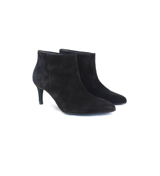 Pedro Garcia Harley boot in black suede | Quincy