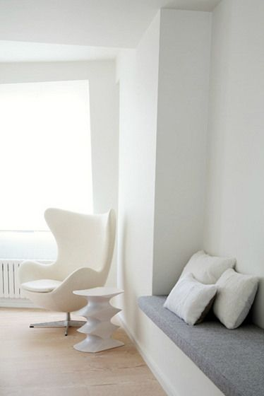 One of my favorite chairs by Arne Jacobsen - I will own this chair one day.
