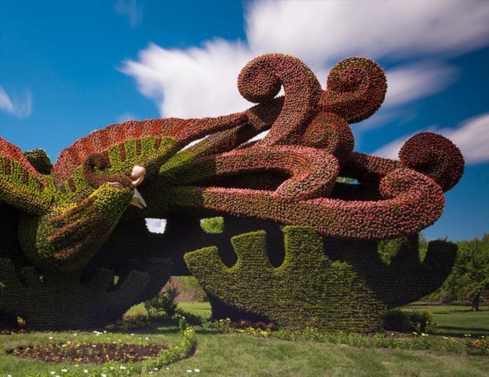 Esculturas De Plantas   Veja Que Maravilhas!