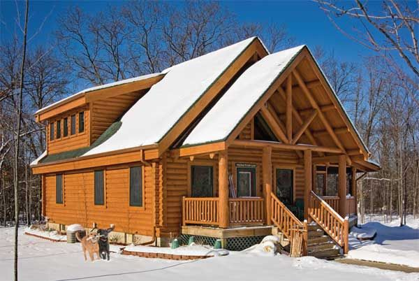 You will be happy to have a look at this Sequoia Log Home Plan from Jim Barna Log and Timber Homes.  ...