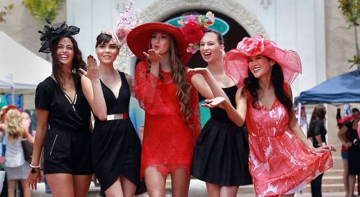 Derby day fashion comes to Del Mar