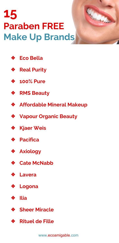 15 Paraben Free Makeup Brands