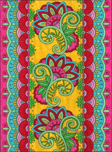 Mehndi Designs Coloring Book : Best art deco images on pinterest design a