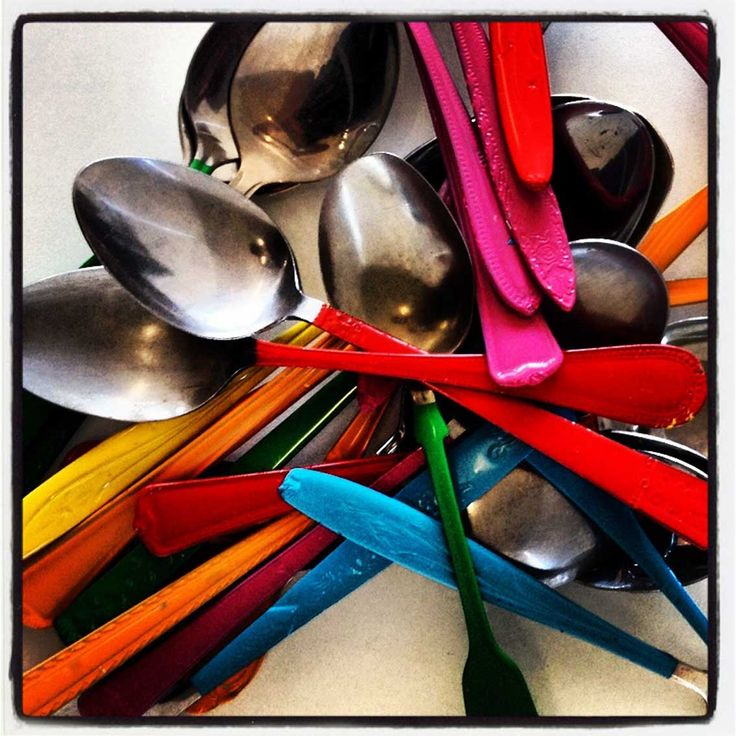 Crazy Spoons by @azbcreative