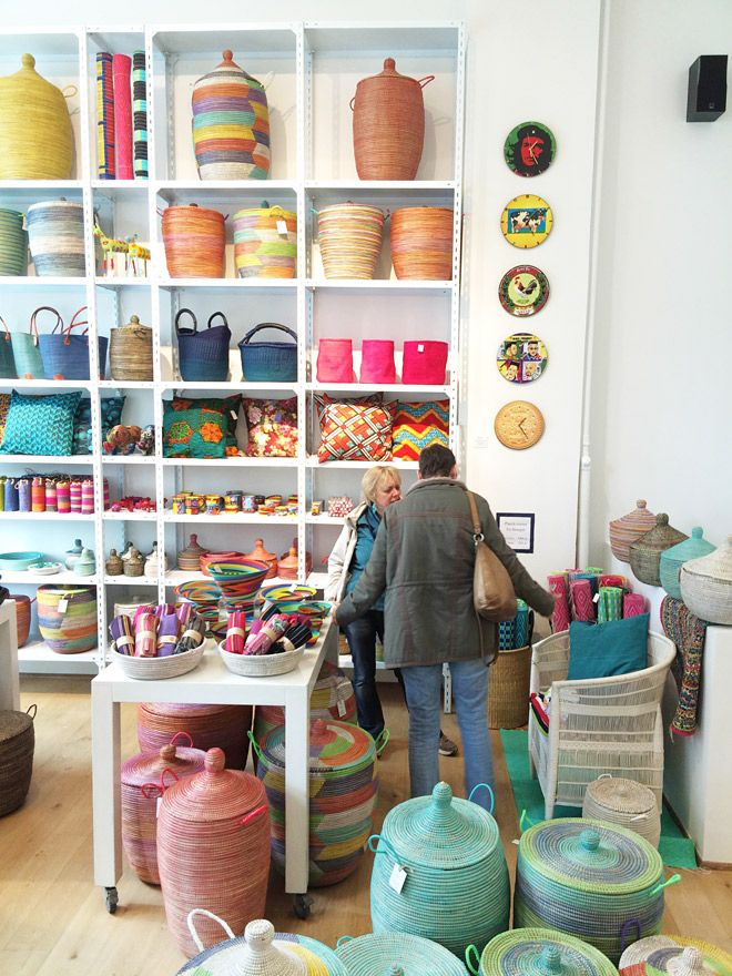 Similar to Afroart in Stockholm. A whole variety of African handicrafts.  Frederiksborggade 20.  http://www.africantouch.dk/