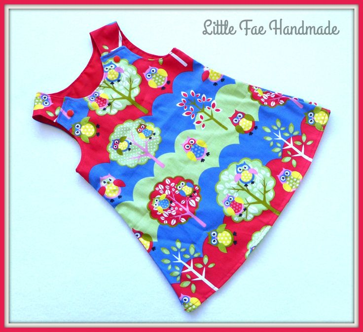 Owl Pinafore Size 3