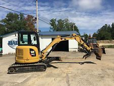2014 Cat 303.5E Mini Excavator in excellent condition apply to finance www.bncfin.com/apply excavators for sale - excavator financing