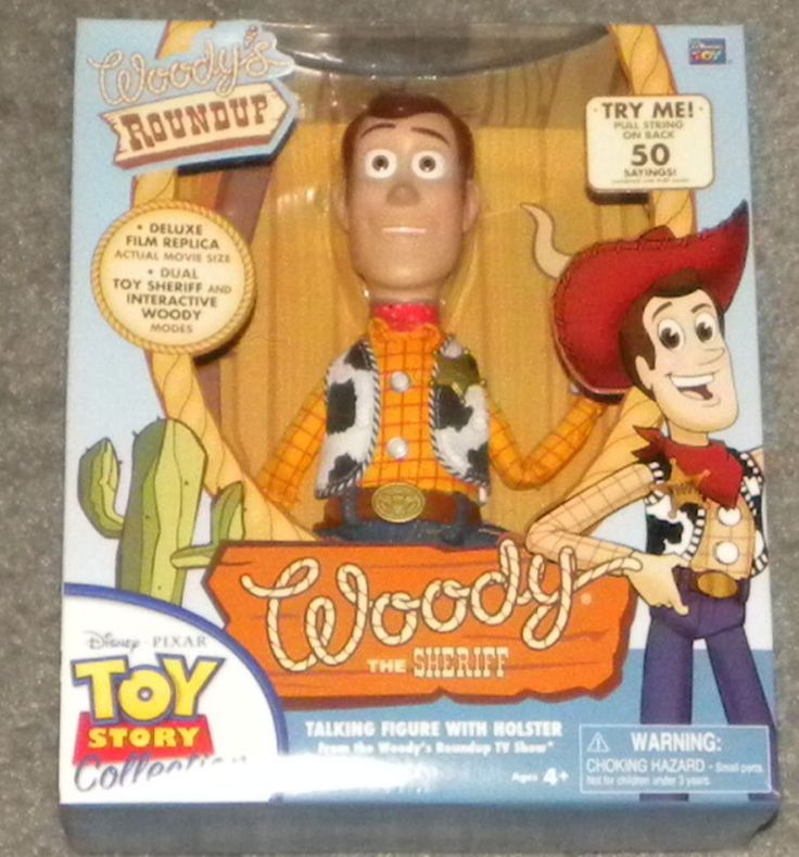 Toy Story Woody's Roundup Talking Sheriff Woody Doll #DisneyPixar