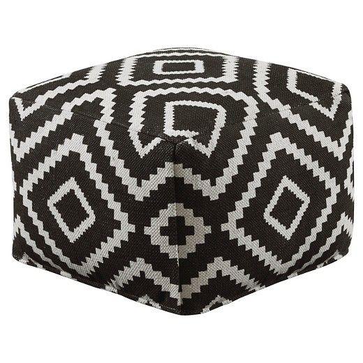 Geometric Pouf - Ashley Furniture : Target