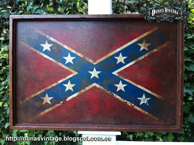 DUNA´S VINTAGE: Confederate Flag, Duna´s Vintage. For sale 200€