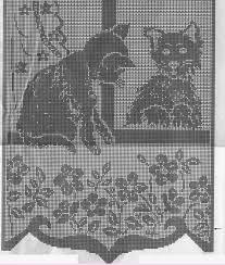 Risultati immagini per tende a filet