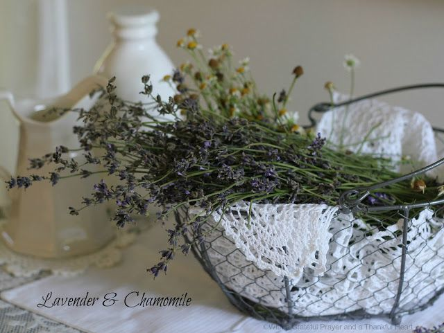 Prayer and a Thankful Heart: Sweet Lavender Scones in the Parlor