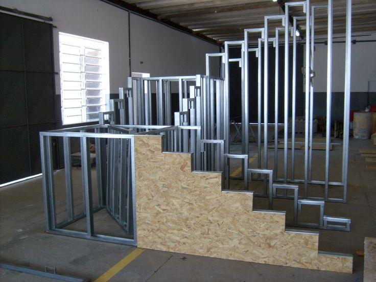 Risultati immagini per escada light steel frame