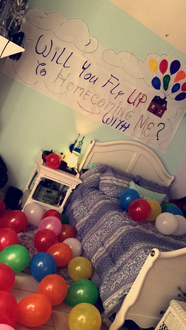 Great way to ask someone to Homecoming so cute!!
