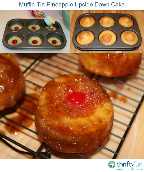 This page contains muffin tin pineapple upside down cake recipes. Make your next pineapple upside down cake in muffin tins for a sweet little treat.