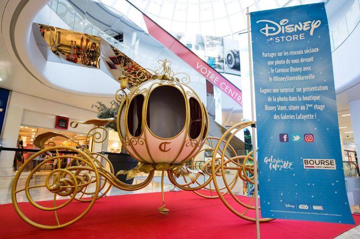 La magie Disney s'étend avec l'ouverture du DisneyStore aux Galerie Lafayette de Marseille Bourse !