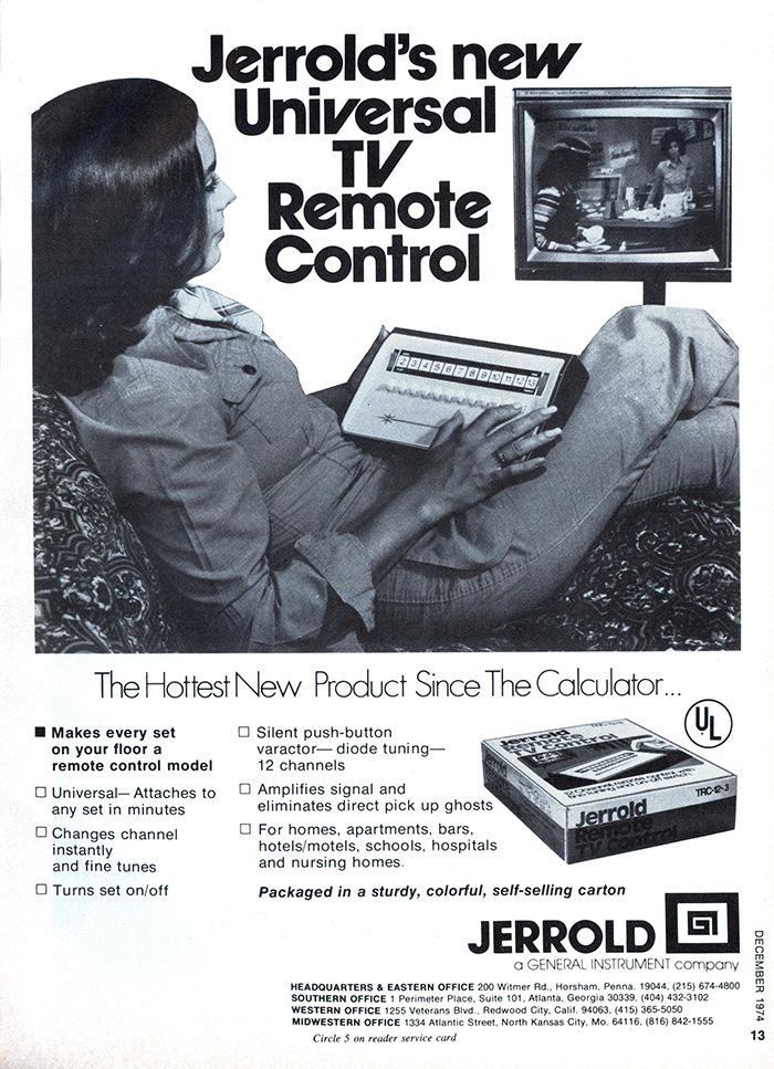 A History Of The Tv Remote Control As Told Through Its Advertising