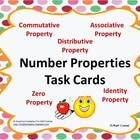 These number properties task cards are fantastic!! They include 28 cards, answer sheets, and an answer key. Your students will love working with th...