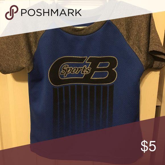 Blue & Gray Athletic Shirt Blue & Gray Athletic Shirt Shirts & Tops Tees - Short Sleeve