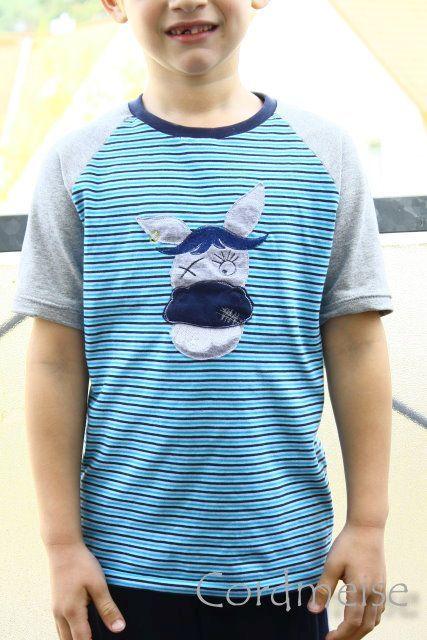 Cordmeise: Raglan-Shirt
