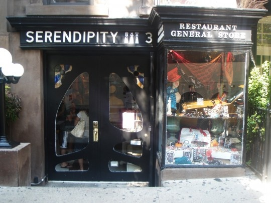 Serendipity restaurant in NYC - must get the frozen hot chocolate! http://www.serendipity3.com/