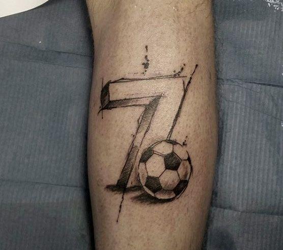 Risultati immagini per soccer tattoos