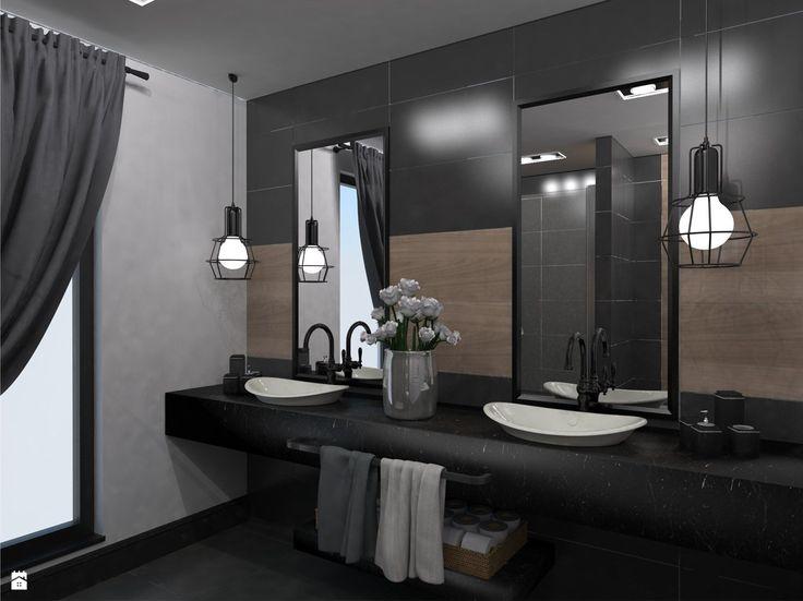 Widok na umywalki - zdjęcie od Monika Szpak - Łazienka - Styl Nowoczesny - Monika Szpak