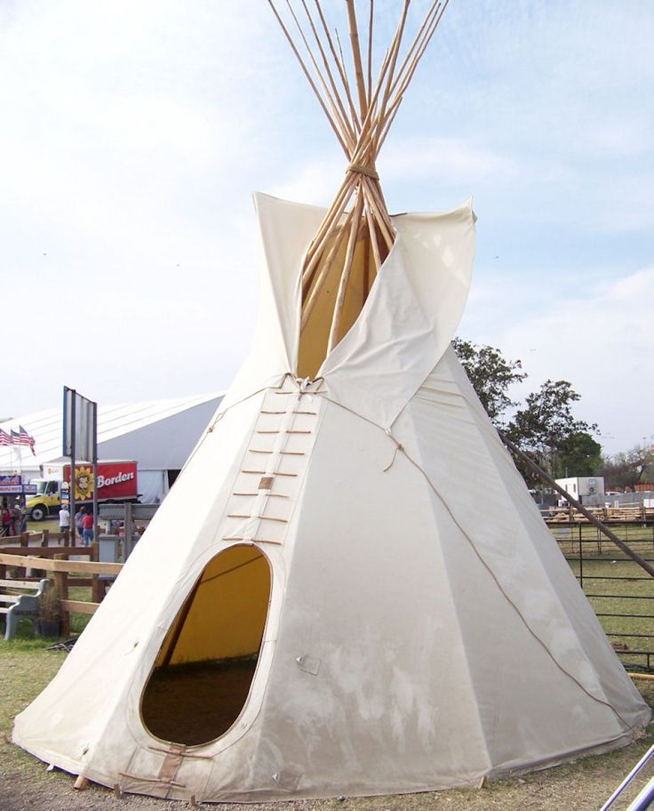 The nomadic plains Indians of North America often used Tipis for their portable homes. Also & 9 best Tipi images on Pinterest | Tipi Tents and Camping