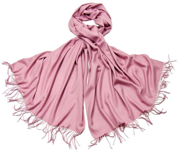 Etole rose cachemire et laine Edition limitée - Etole/Etole cachemire - Mes Echarpes