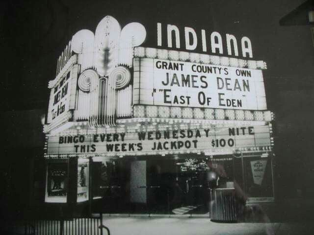 Marion, Indiana.   The good old days. James's Dean was from Fairmount, Indiana  just few miles from Marion, IN.