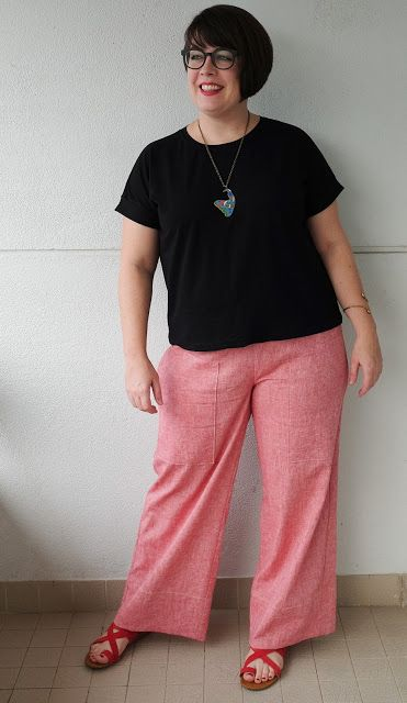 Cookin' & Craftin': Style Daisy Designer Pants in Linen