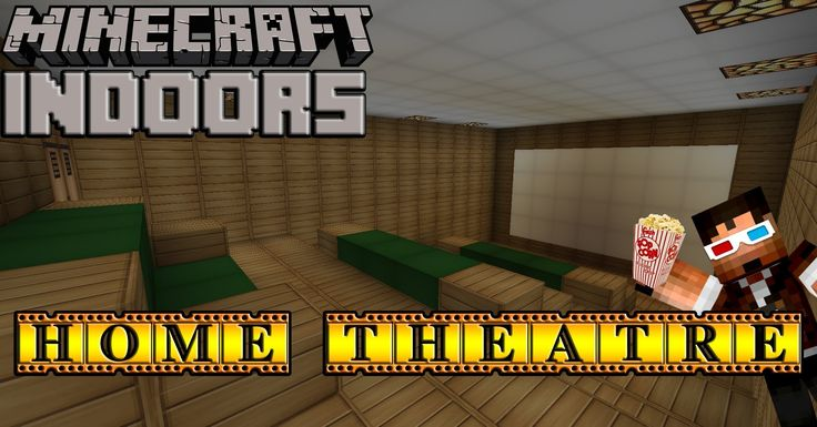 Create Your Own Home Theater In Minecraft Check Out This