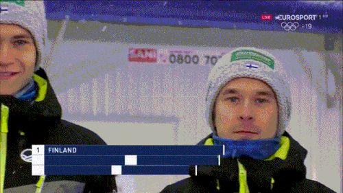 Finnish ski jumping team
