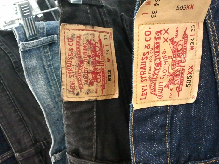Dodgy Levi jeans. Check the tags.