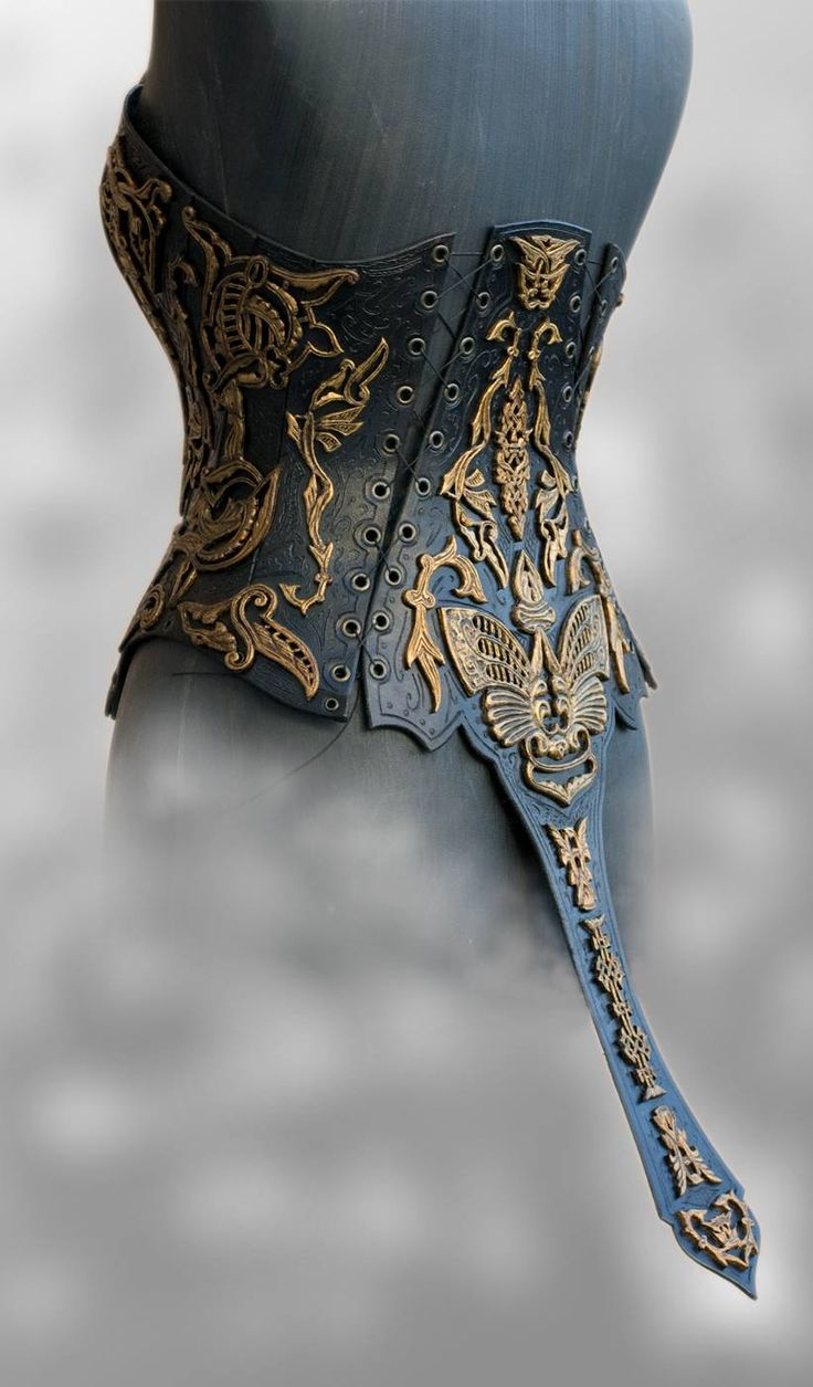 "The Fabulous Weird Trotters — steampunktendencies: Corset ""Imperial"" by..."