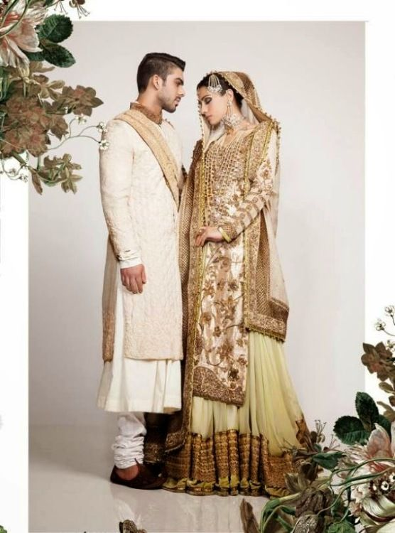 Nida Azwer wedding outfit 2014 for men and ladies have as of late propelled, Nida Azwer is one of ...
