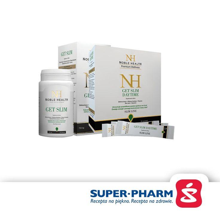 Noble Health Get Slim skuteczna walka o szczupłą sylwetkę 29,99 zł w klubie LifeStyle  http://www.klublifestyle.pl/